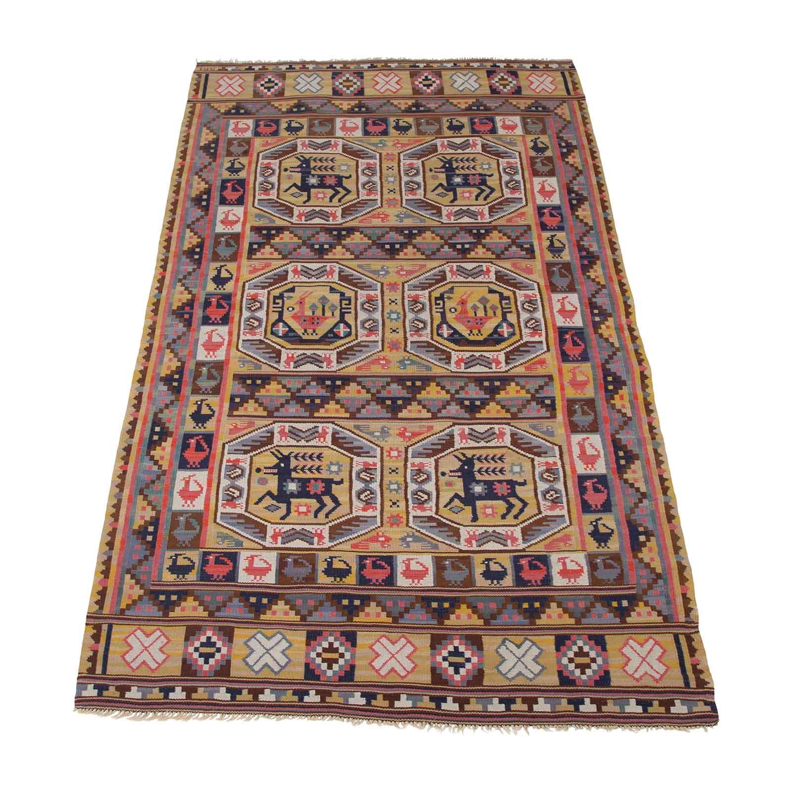 A rare early flatweave rug