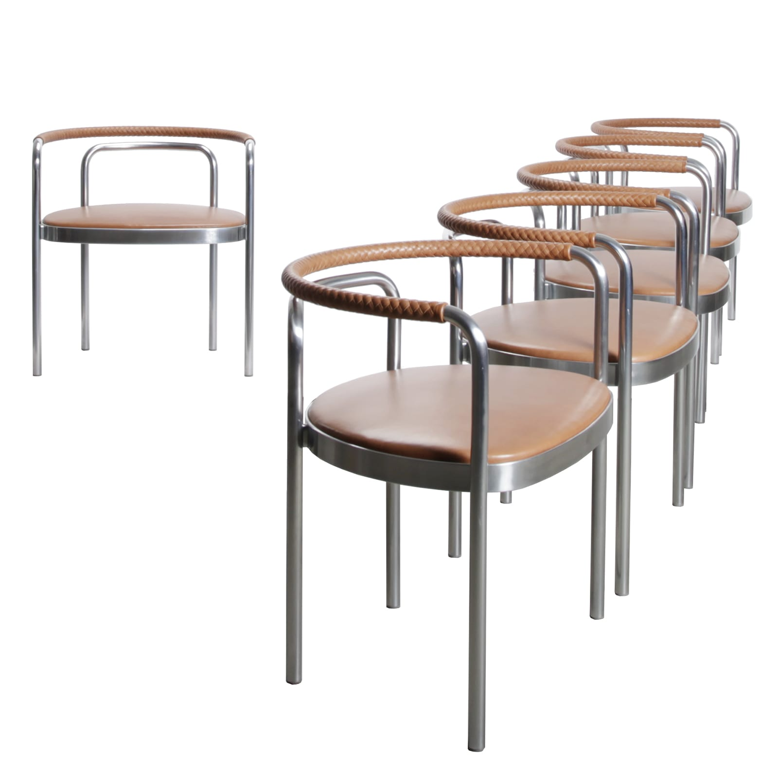 Set of 6 PK12 chairs