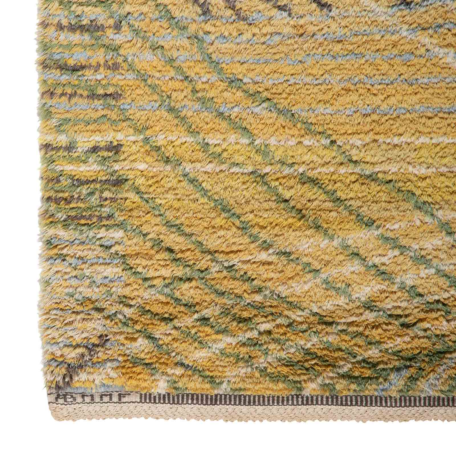 A rug, 'Marina, Yellow'