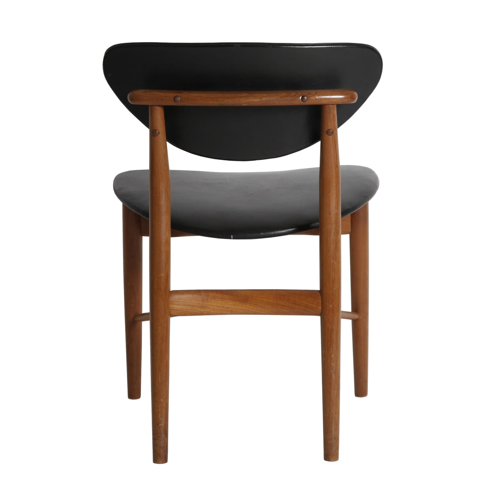 A set of eight dining chairs