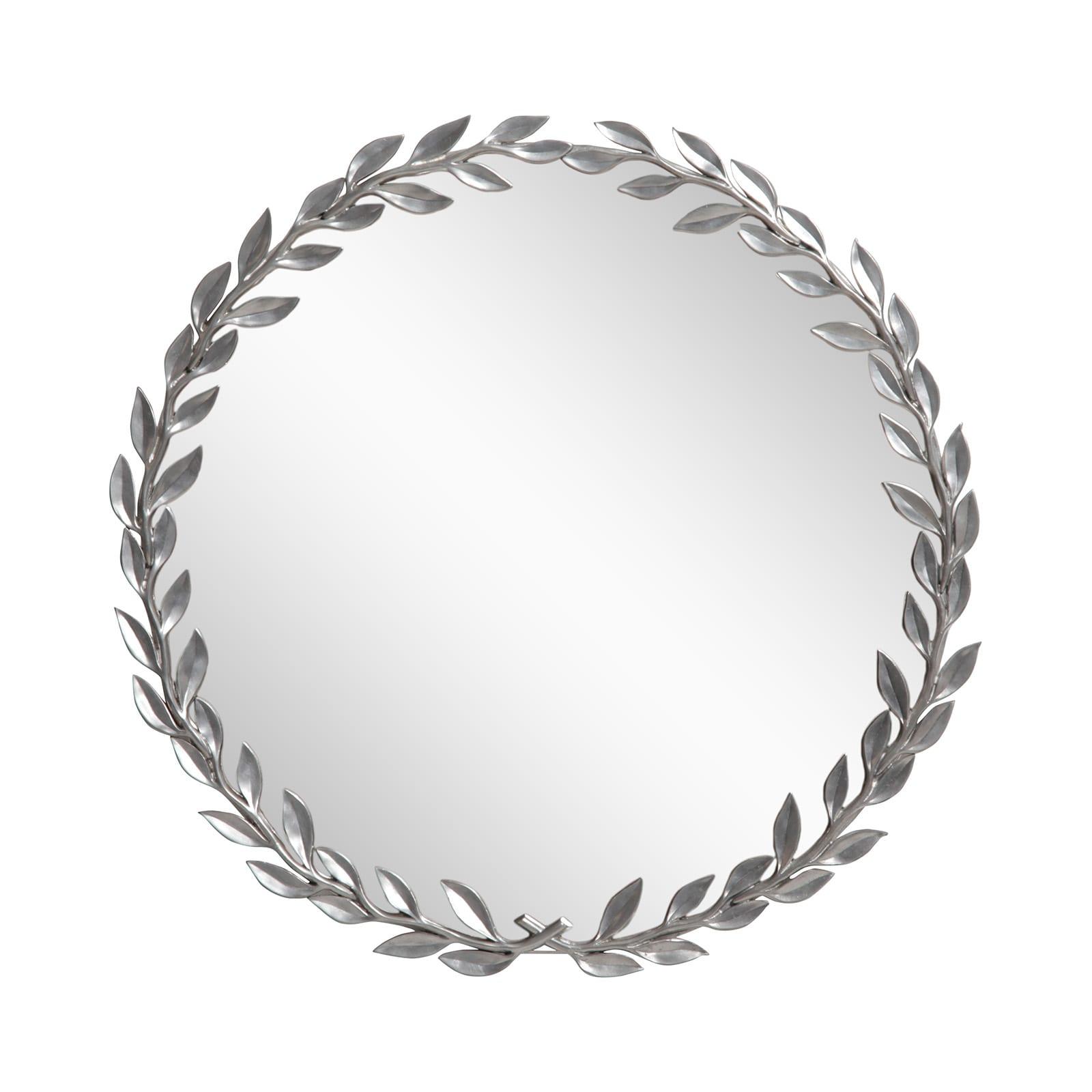 Pewter mirror