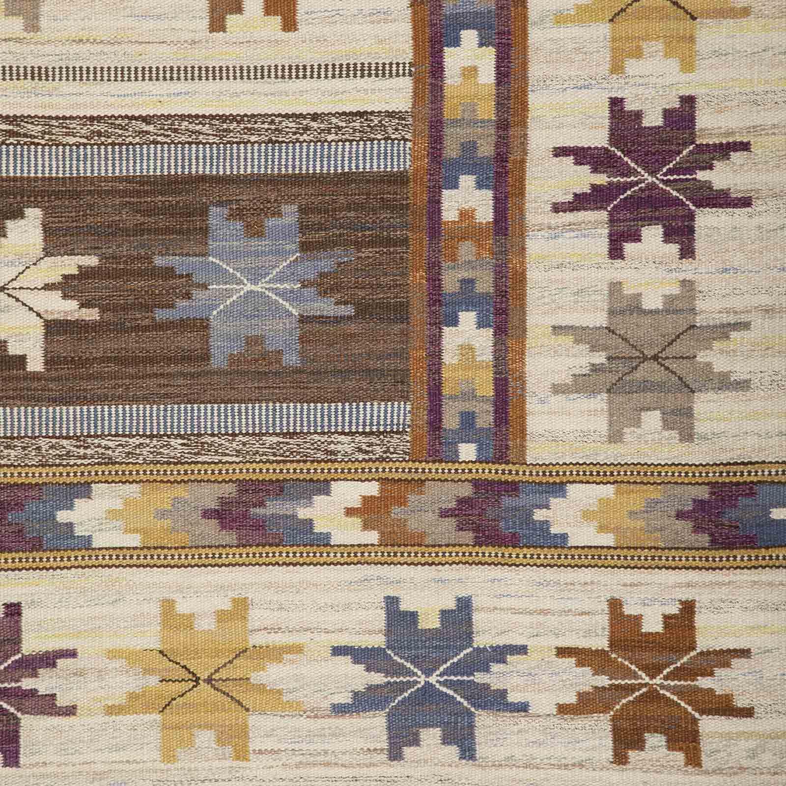 An early rug, 'Höstmattan'