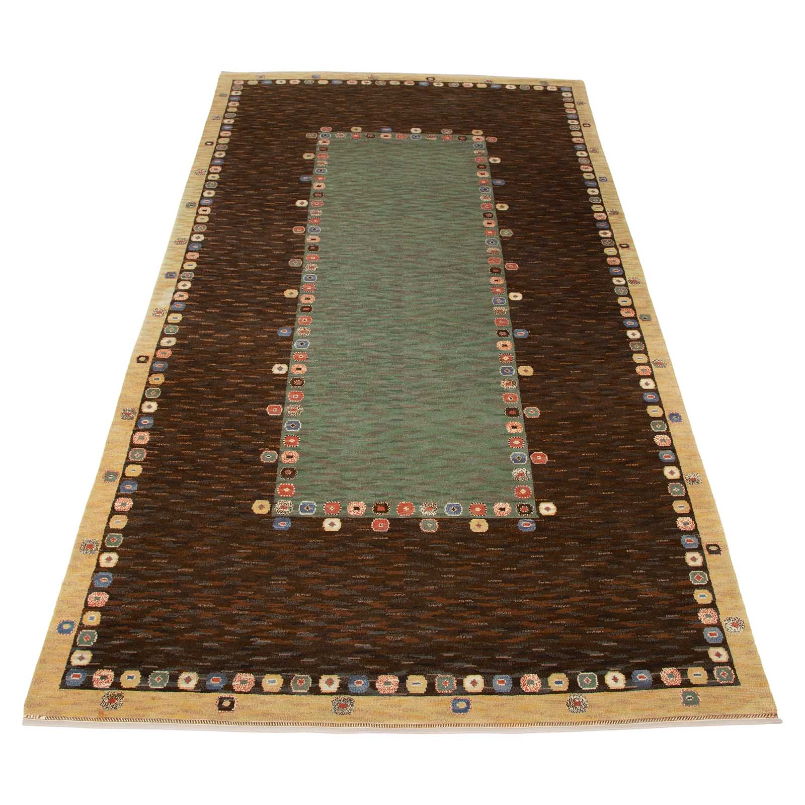 A large early rug, 'Tusenskönan'