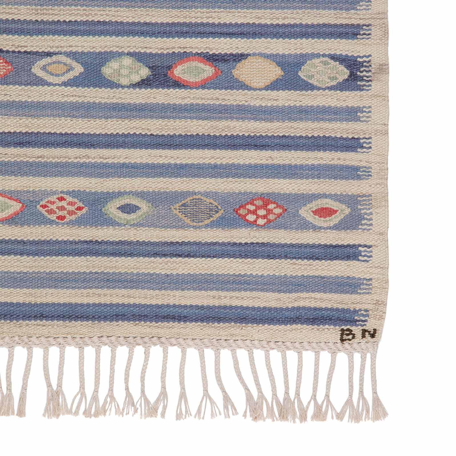 A rug, 'Blåbär, Ljus'