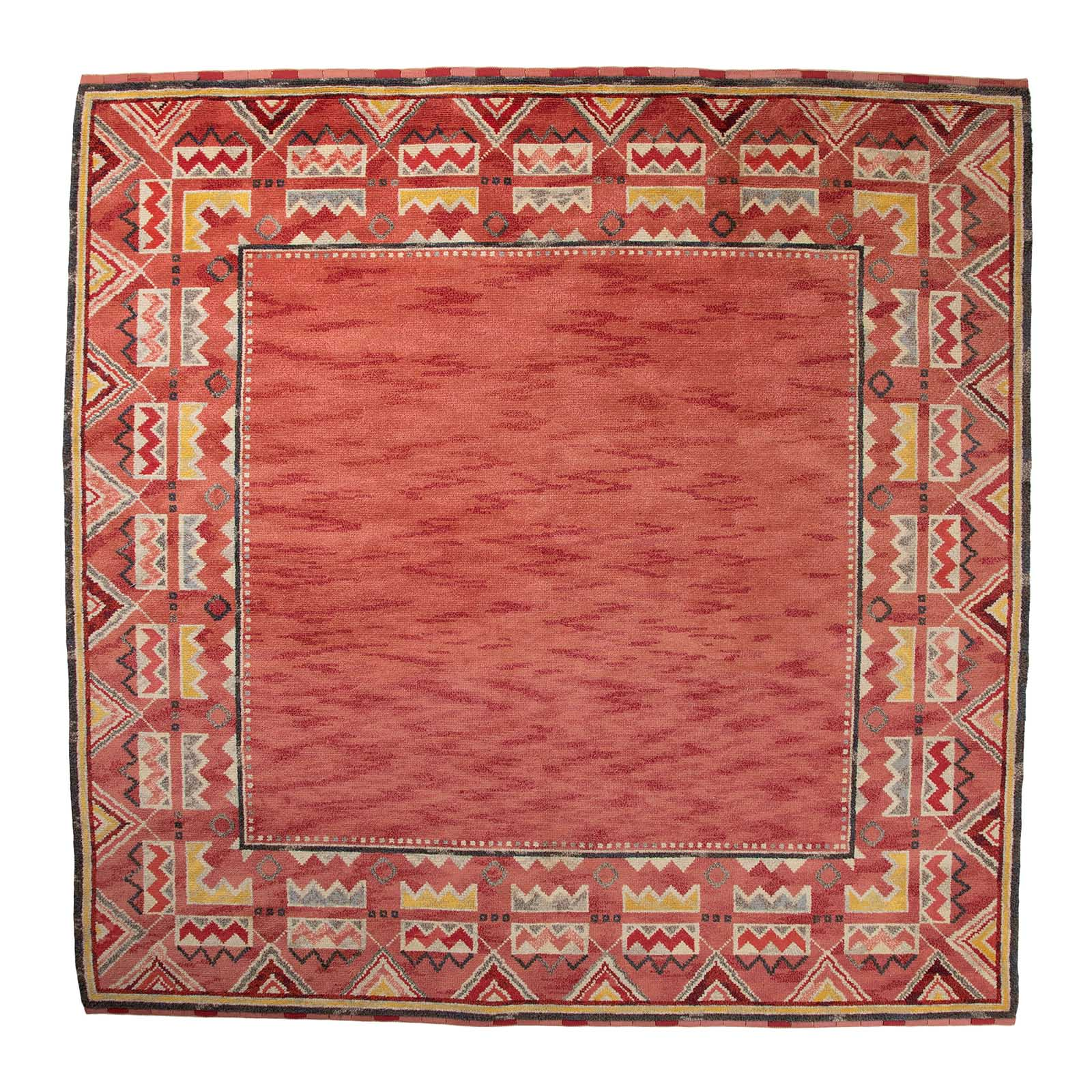 A large Swedish mid century rug