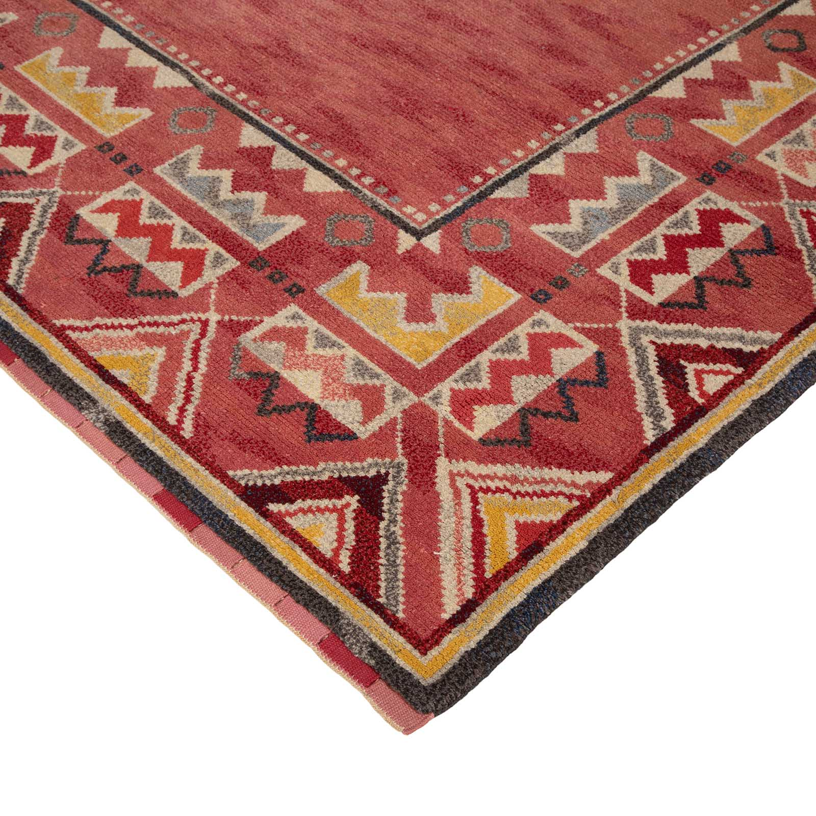 A large Swedish mid century rug