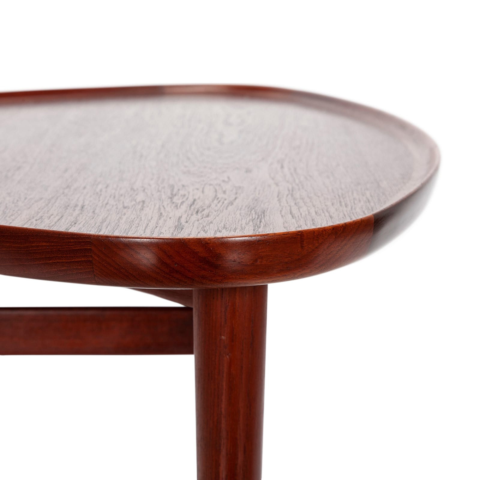 A sculptural side table