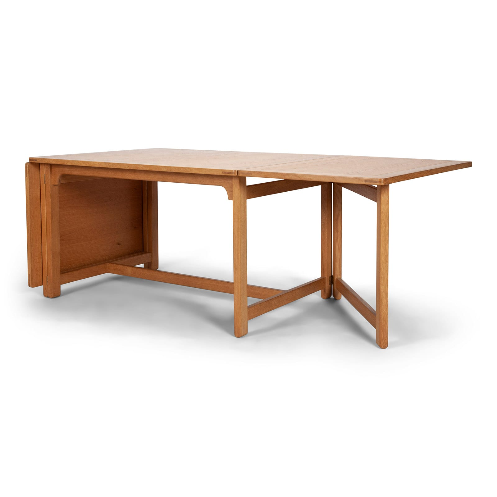 A library table