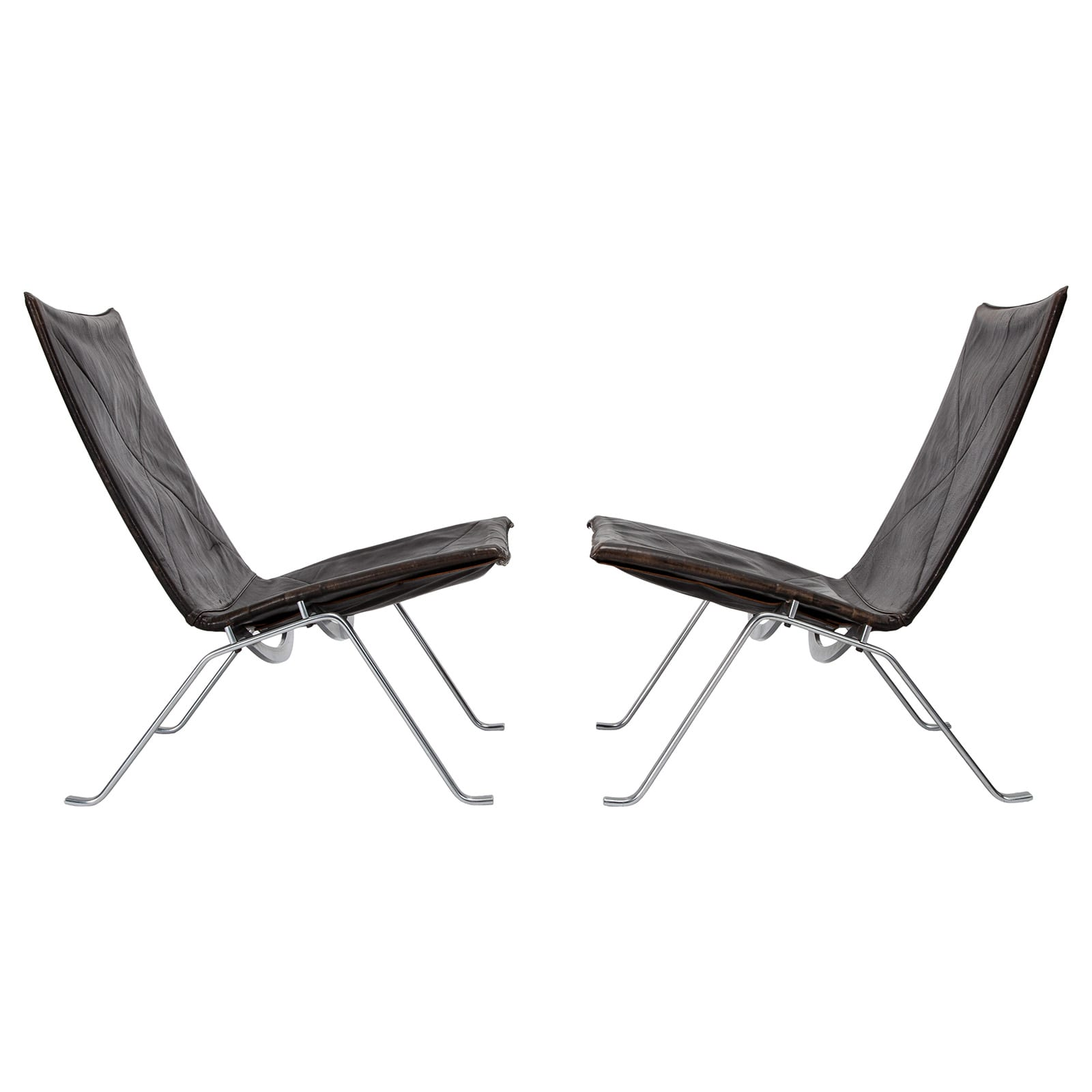 Pair of PK 22 easy chairs