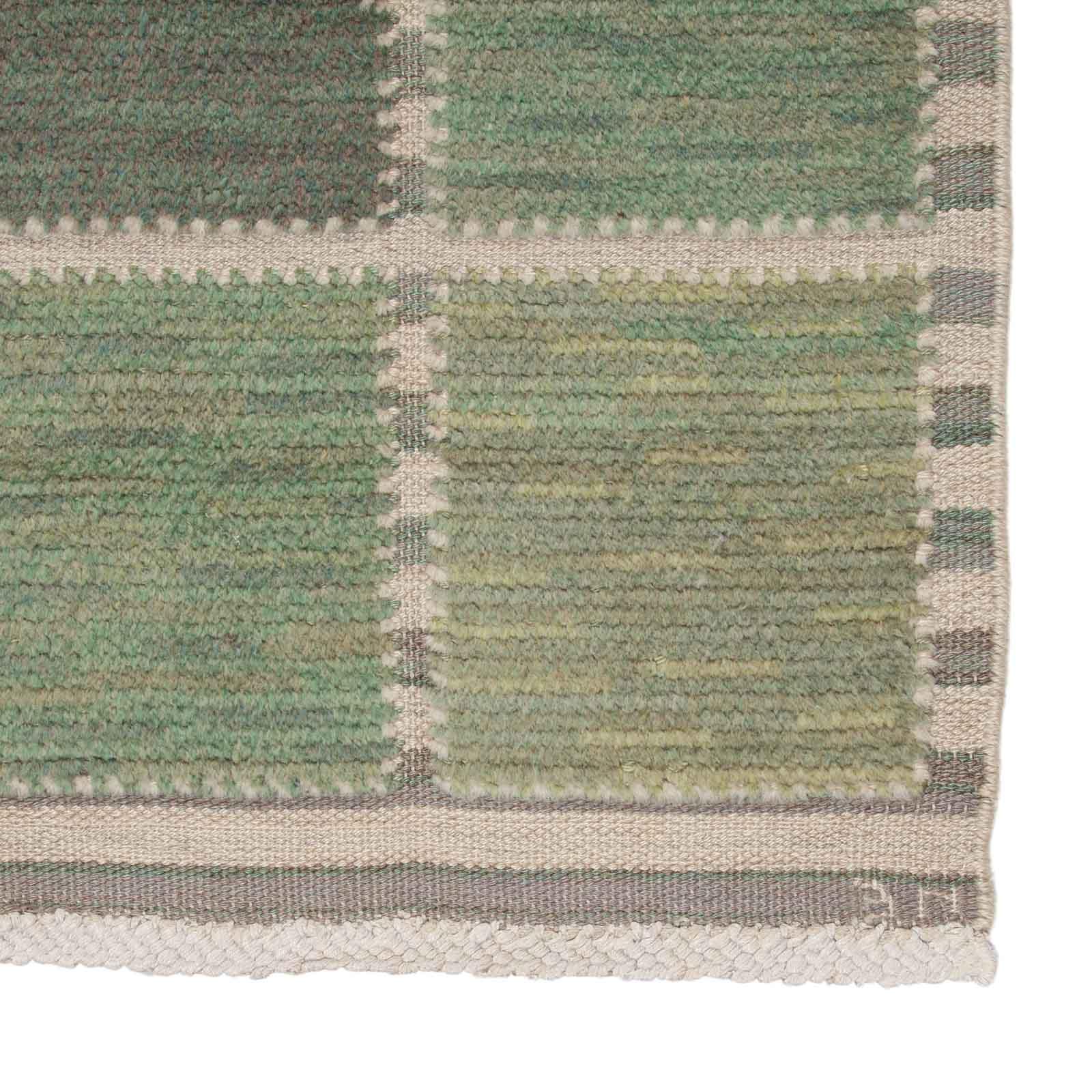 A rug, 'Gyllenrutan, grön'