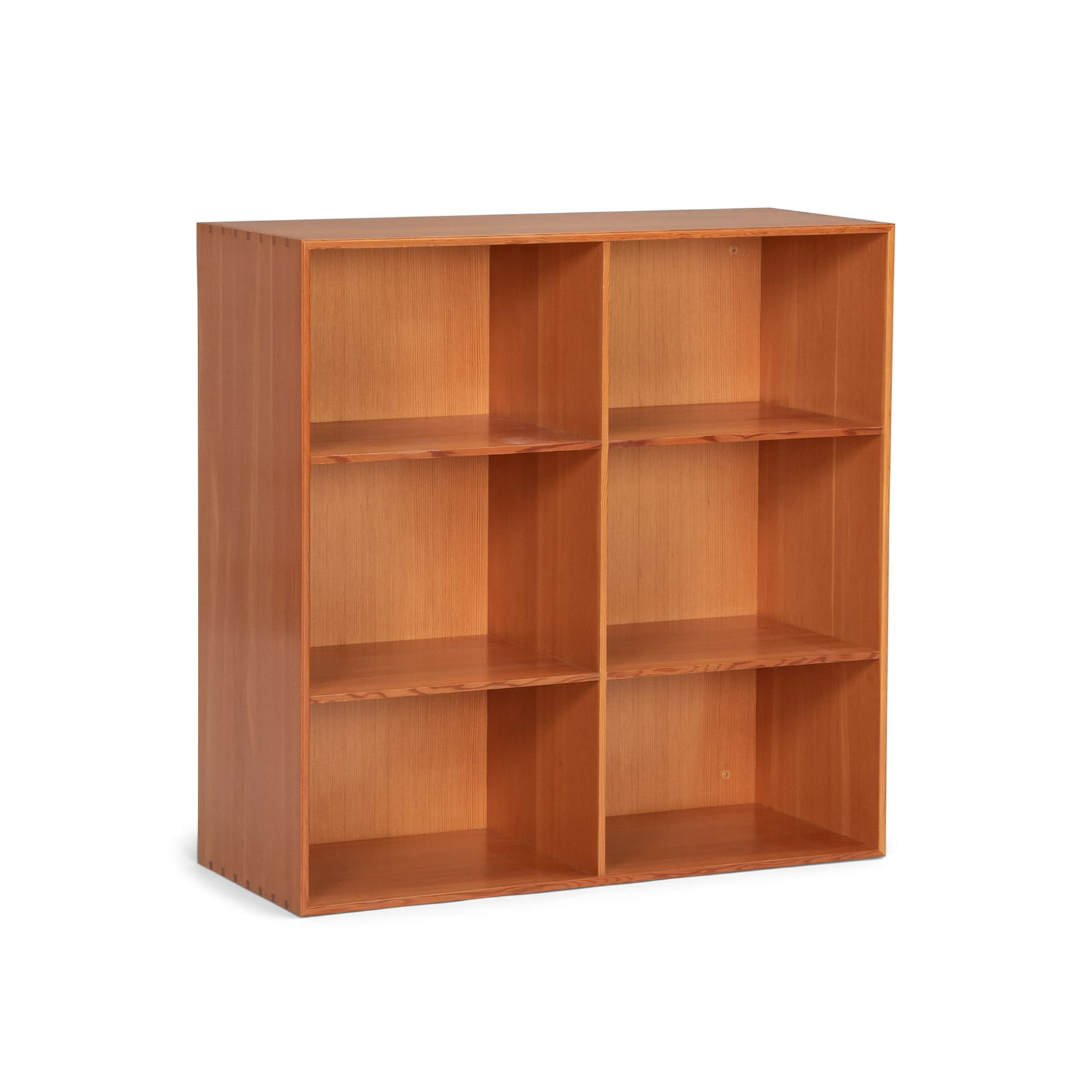 Set of wall mounted bookcases