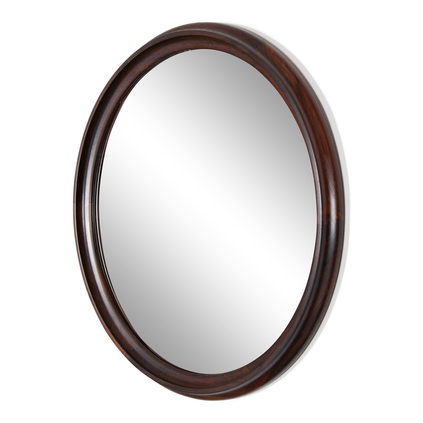 Mirror with rosewood frame