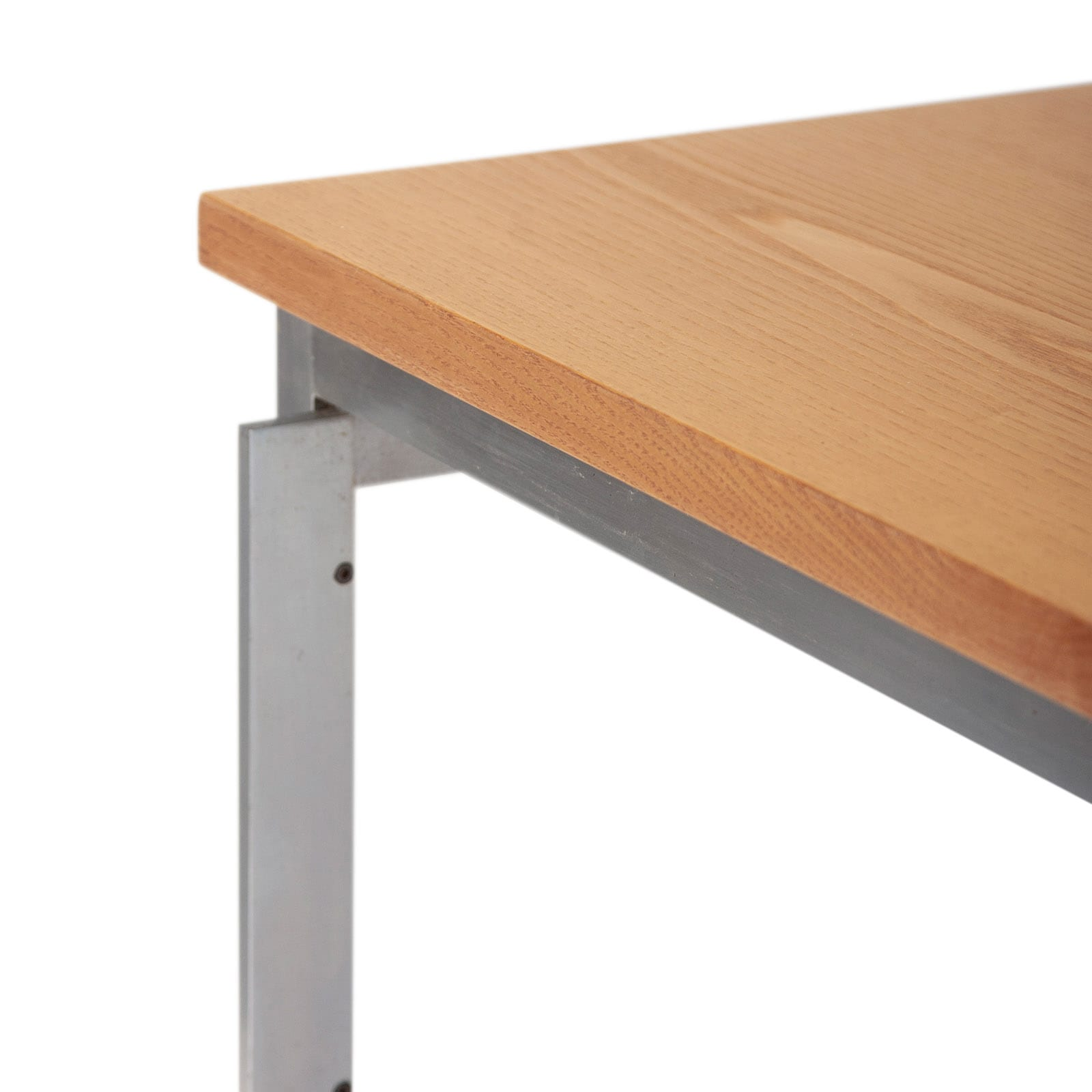 Large worktable in ash