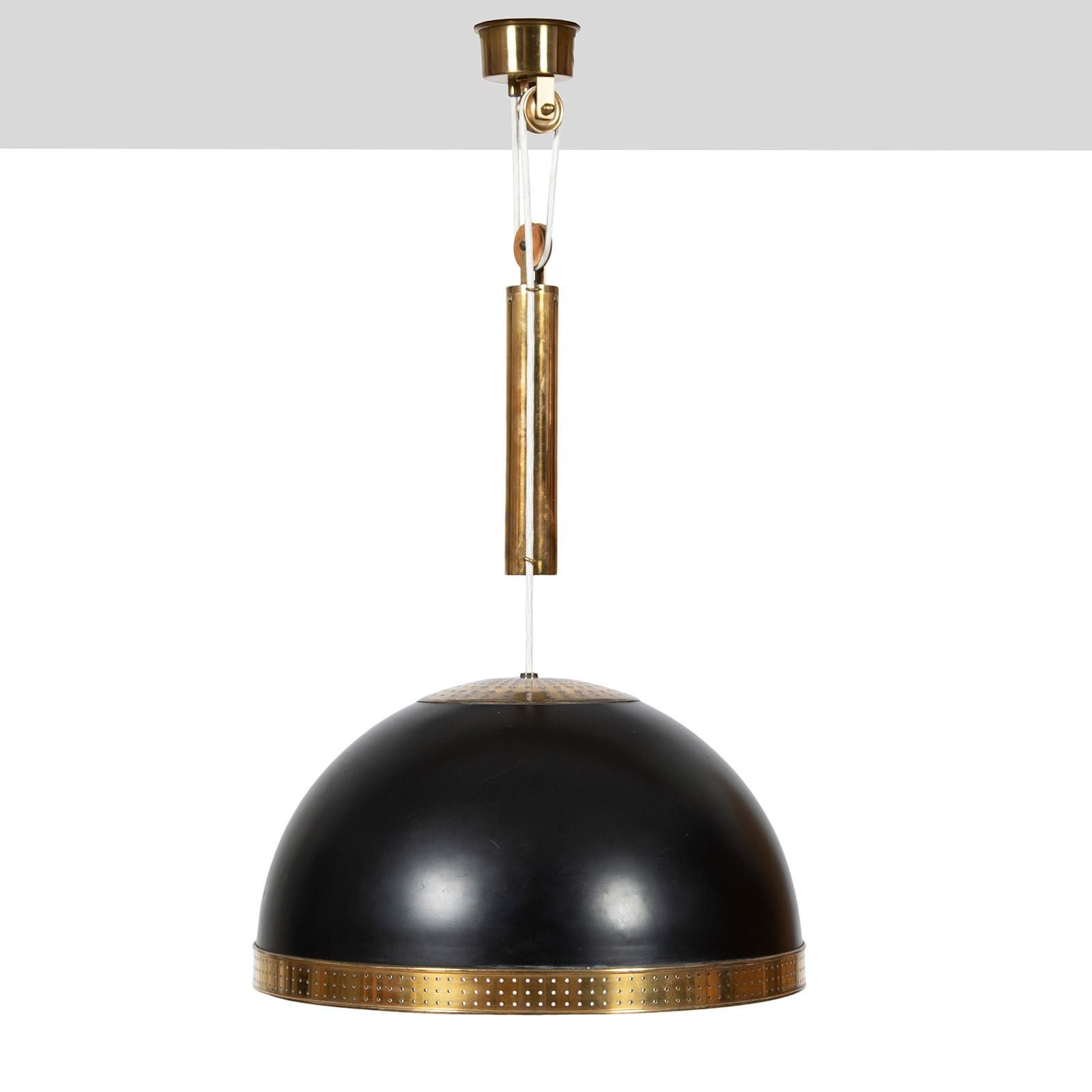 A large height adjustable pendant