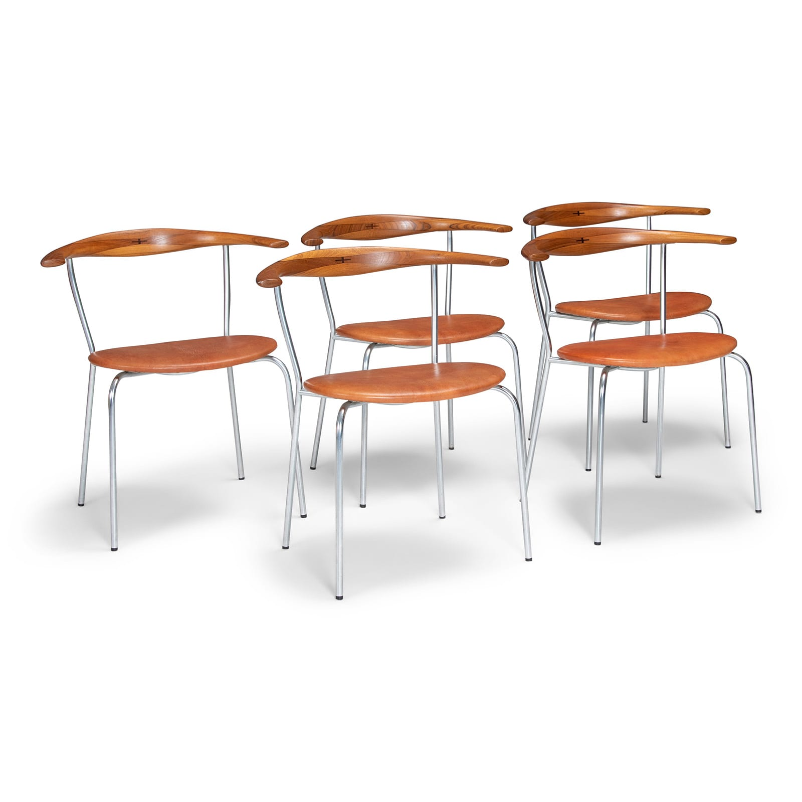 A set of JH701 chairs