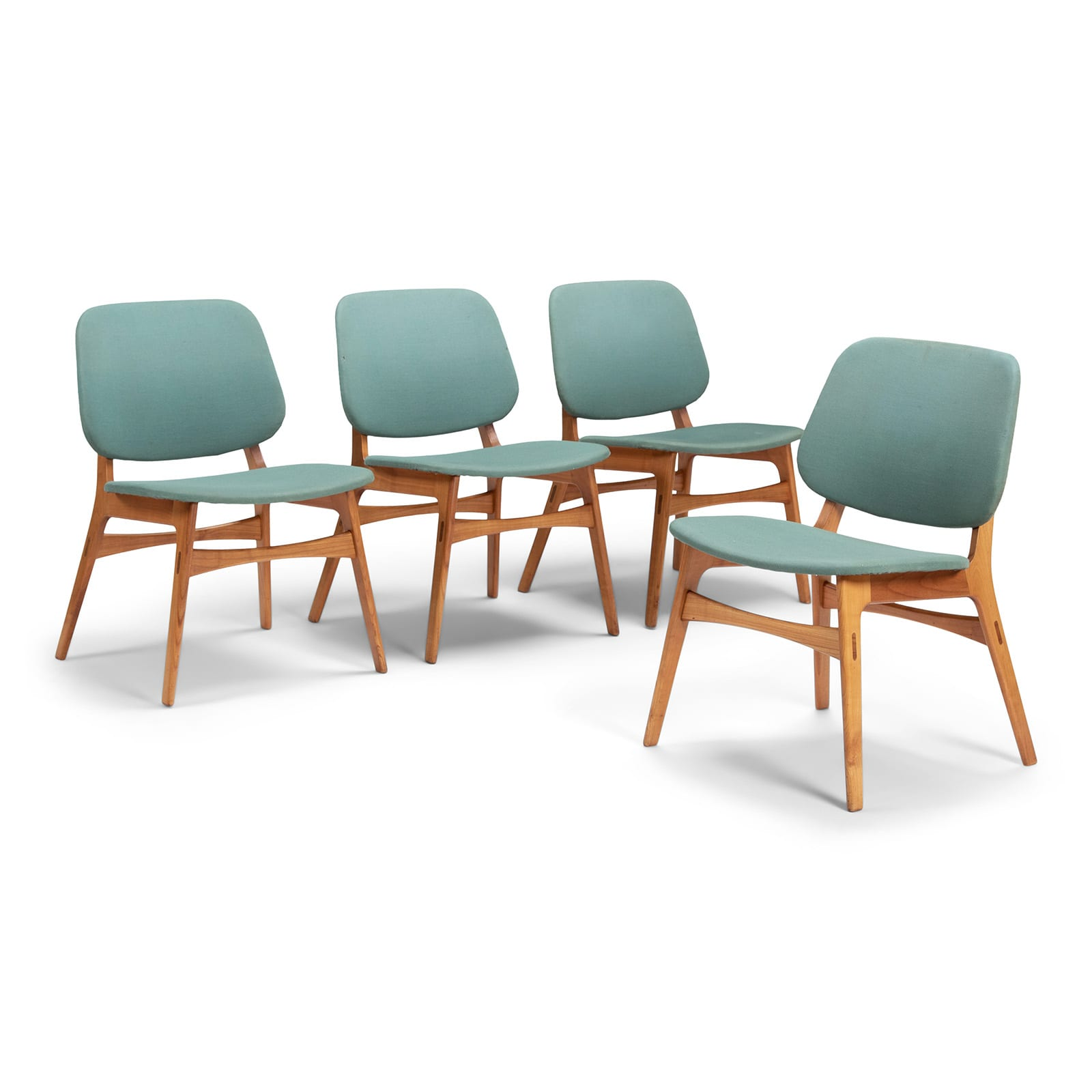 A set of four chairs