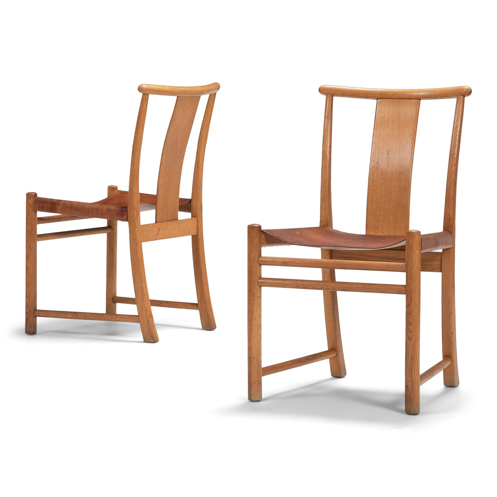 A set of Bellevue chairs