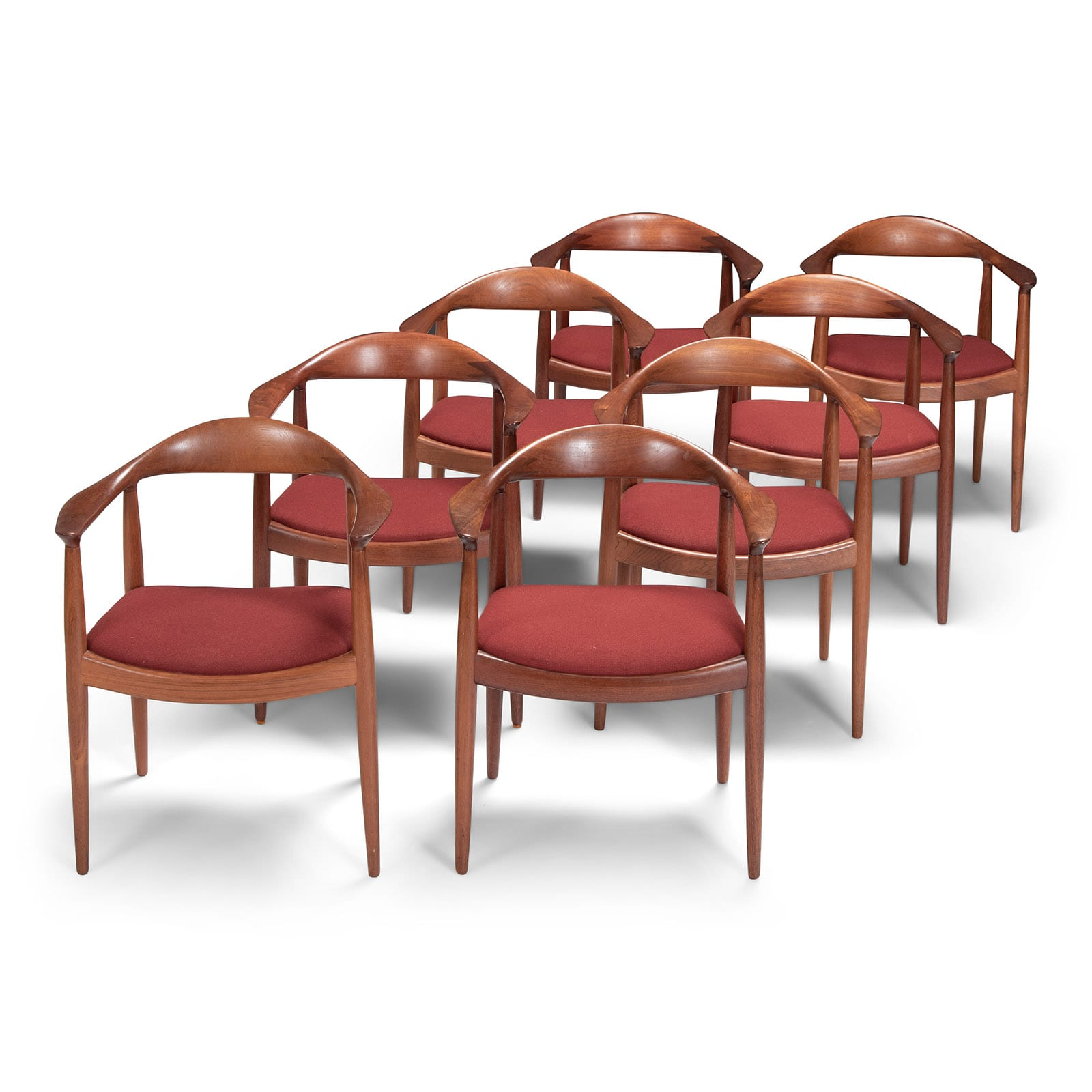 A Set of eight 'The Chairs'