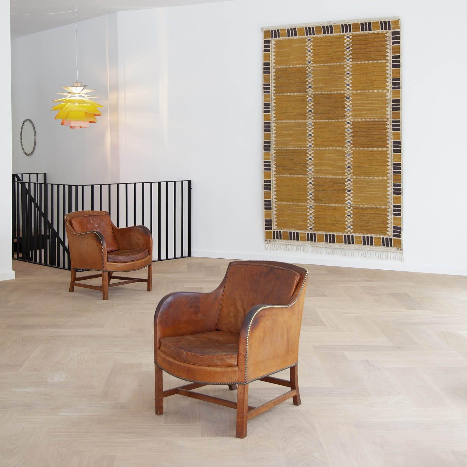 A rug, 'Salerno Gul'