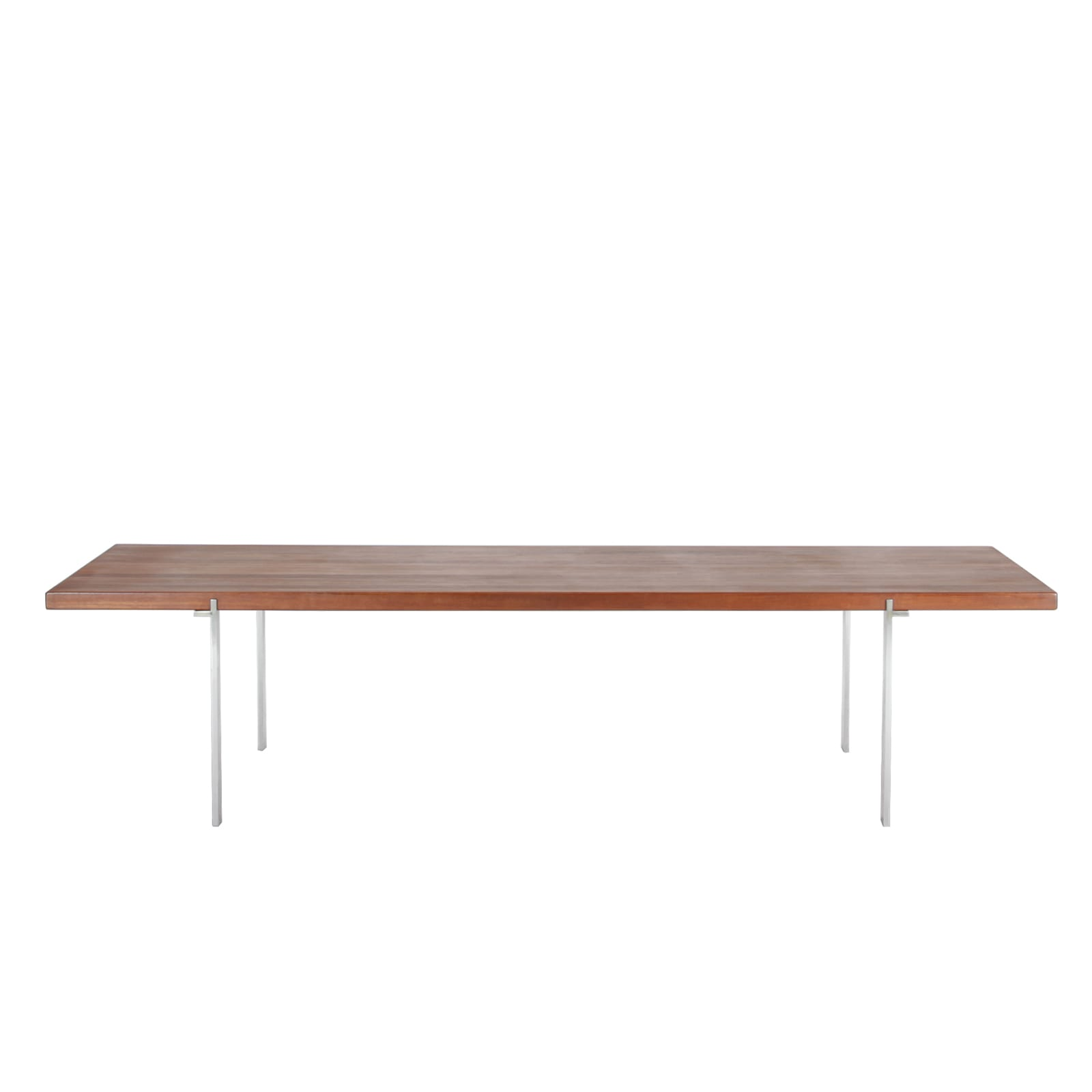 Coffee table with top in solid teak