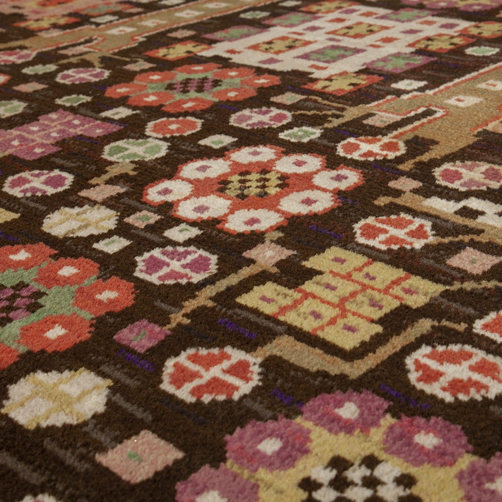 A rug, 'Svarta Trädgårdsmattan'