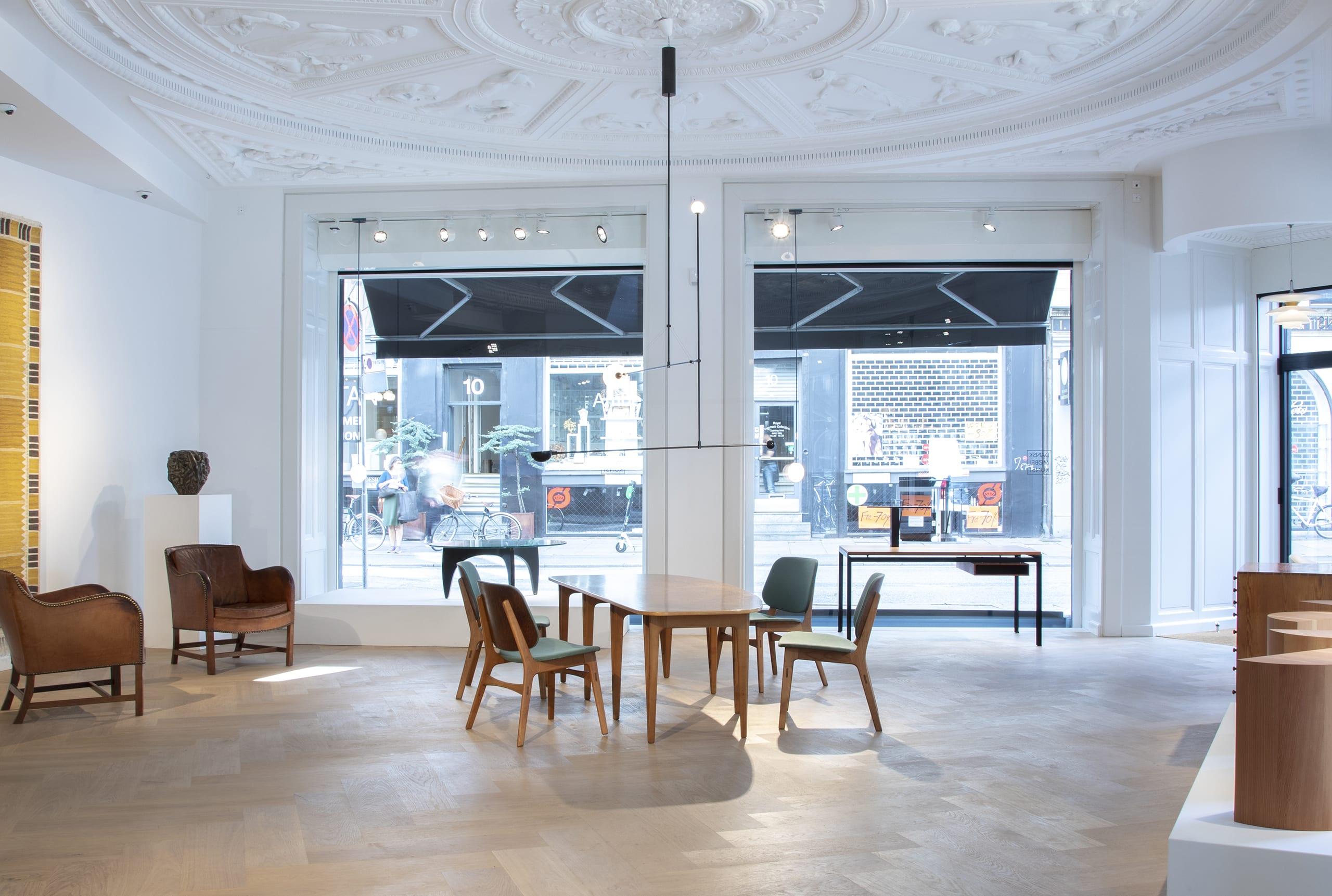 Copenhagen Gallery - Michael Anastassiades and original works of Nordic design by Dansk Møbelkunst