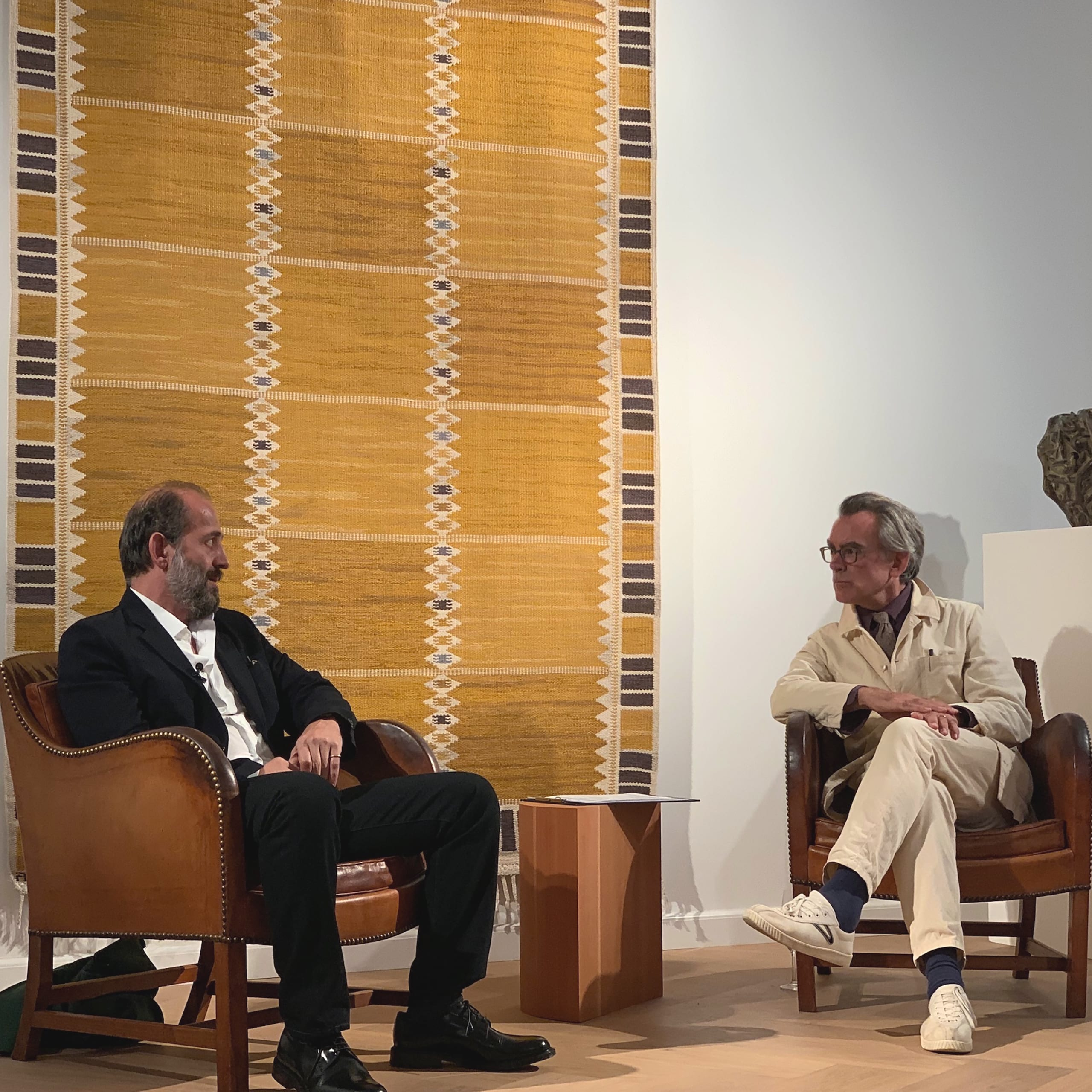 Copenhagen Gallery - Design talk with Michael Anastassiades and Mark Isitt